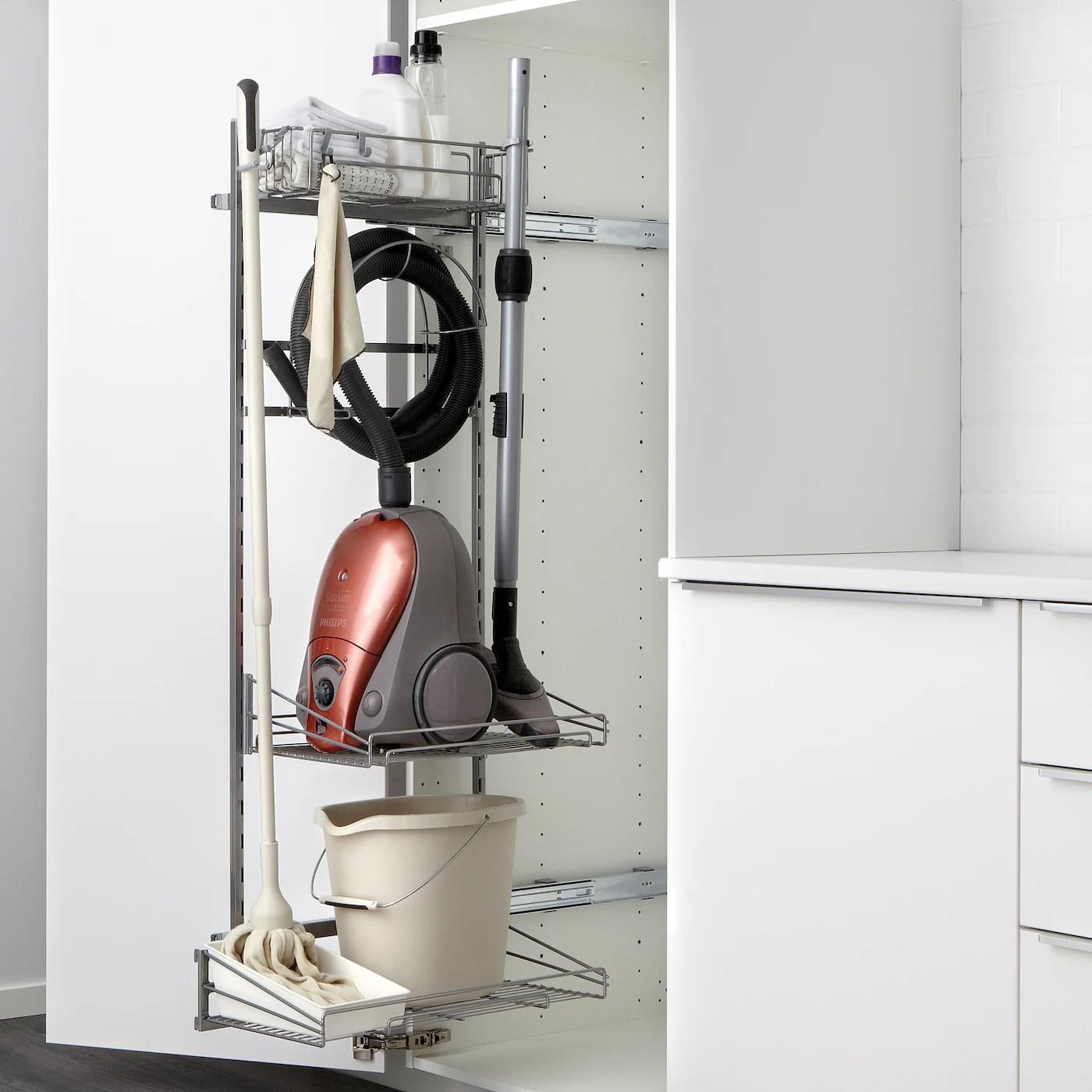 utrusta rangement produits entretien 140 cm