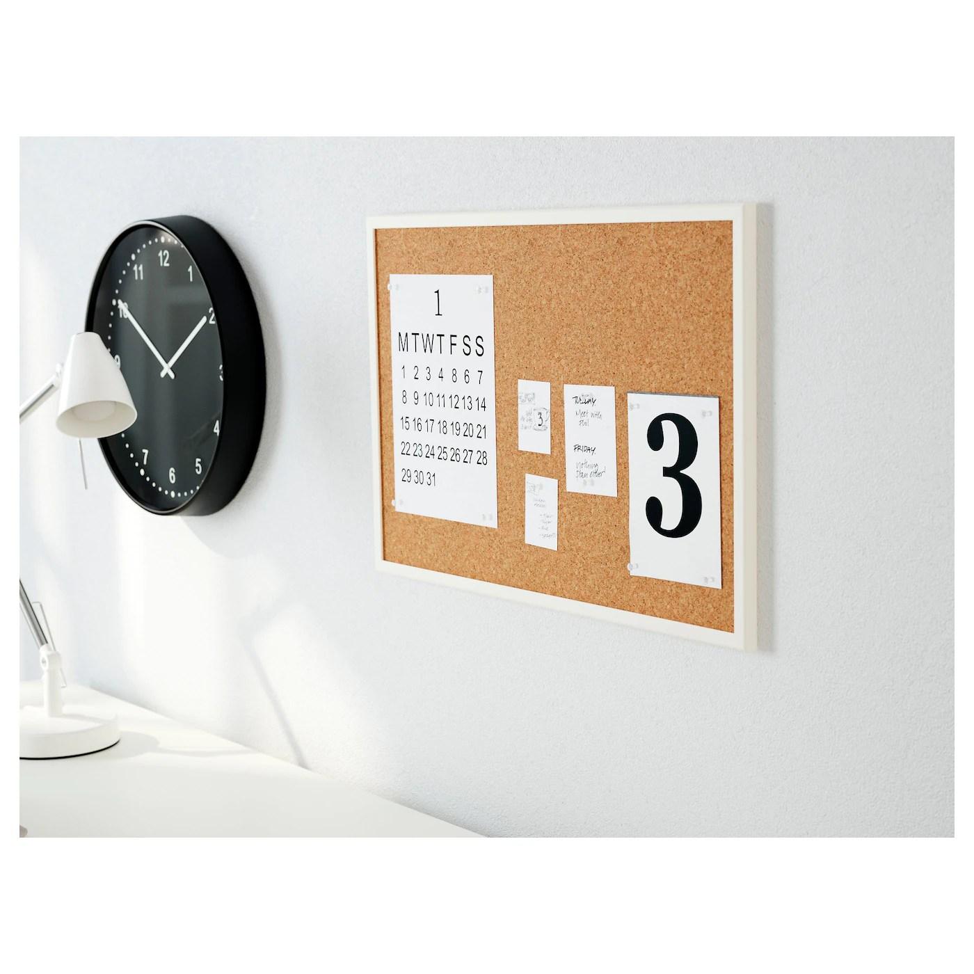 Vaggis Tableau Memo Avec Epingles Blanc Ikea
