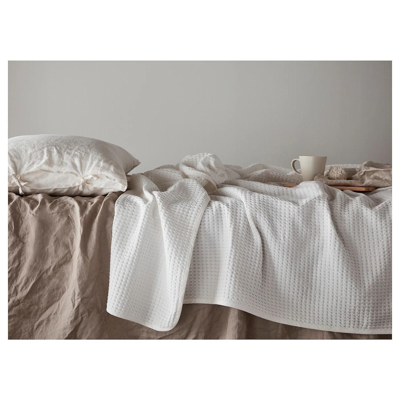 Vareld Couvre Lit Blanc 150x250 Cm Ikea