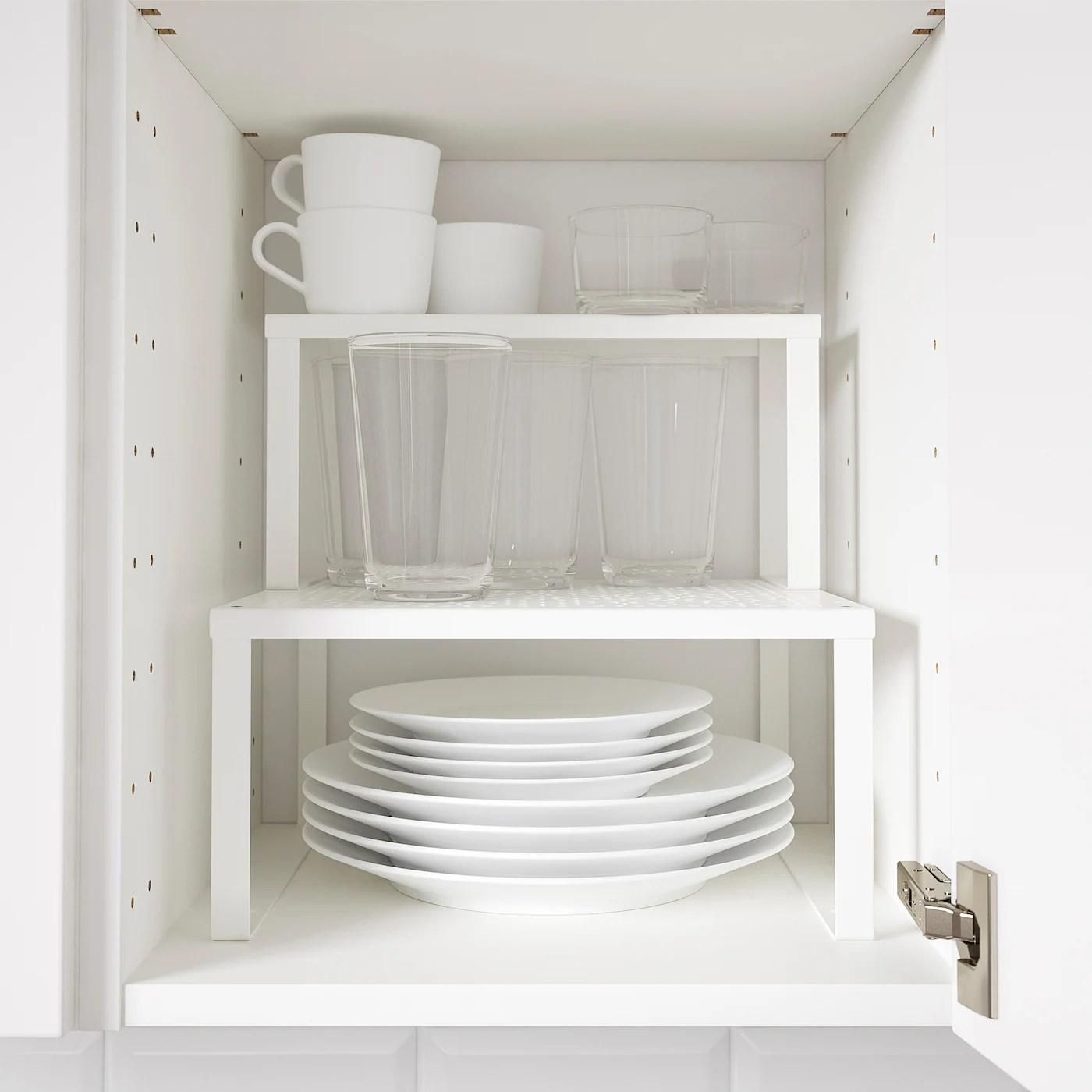 variera demi etagere blanc 32x13x16 cm