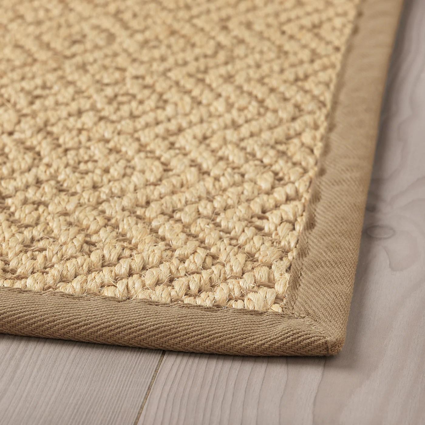 vistoft tapis tisse a plat naturel 200x300 cm