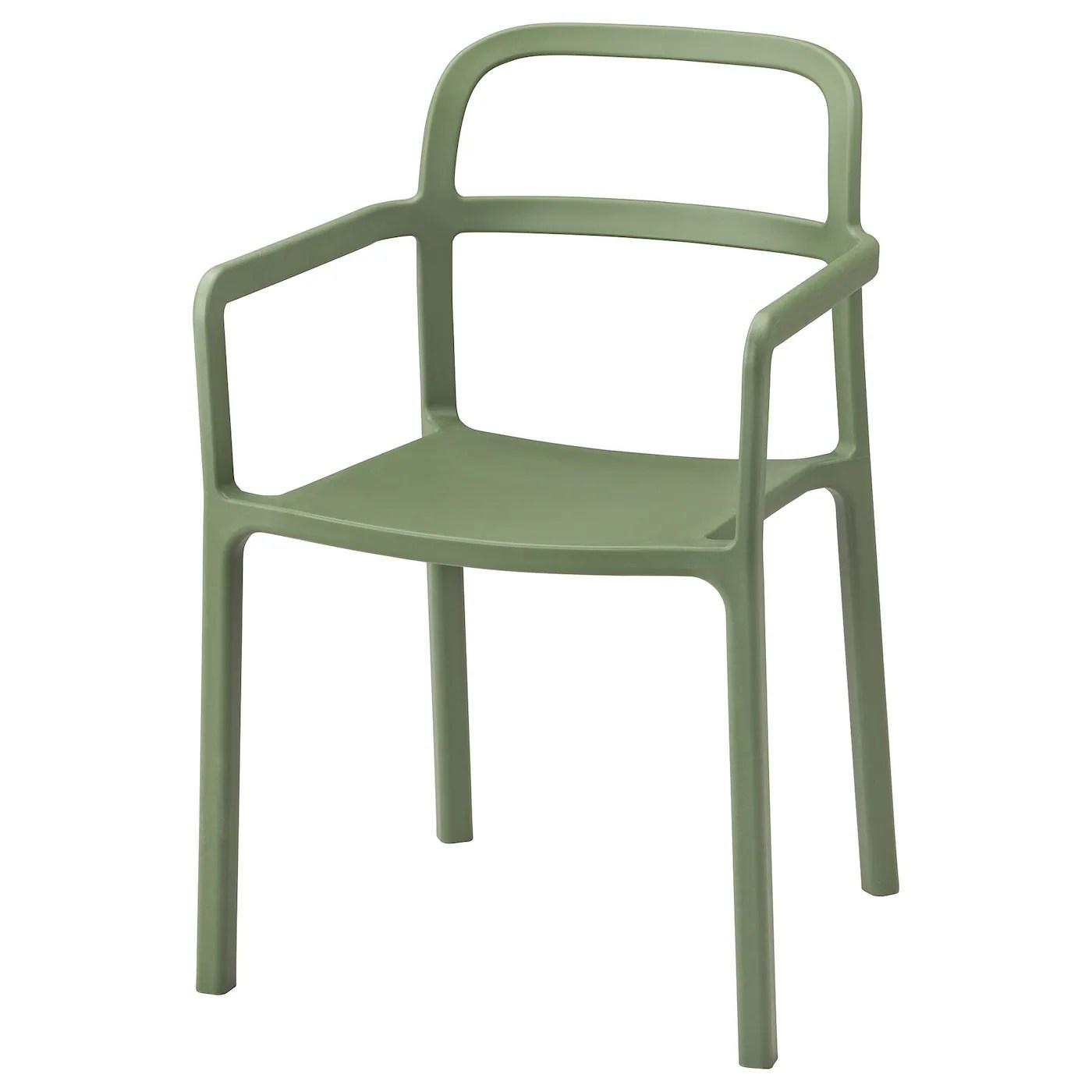 ypperlig chaise a accoudoirs int exterieur vert