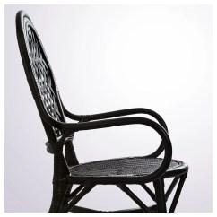 Rattan Chair Ikea Sure Fit Club Slipcovers Älmsta Black
