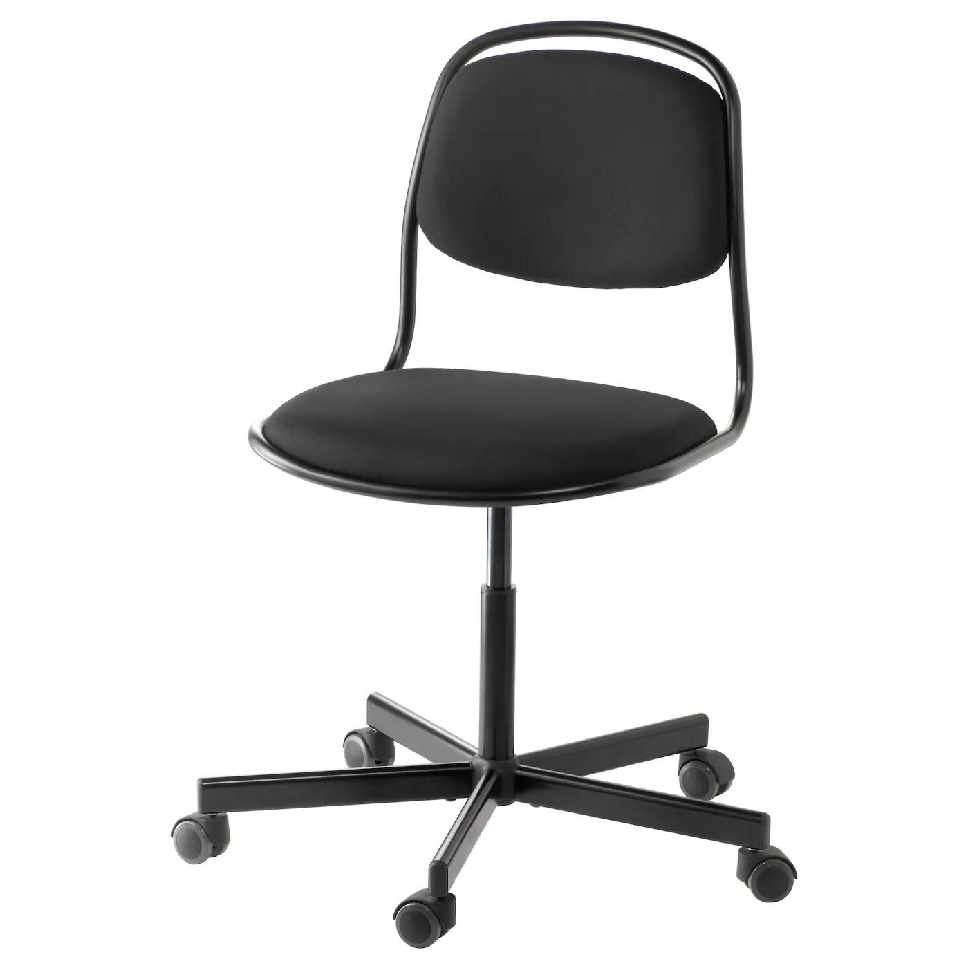 swivel chairs ikea coors light chair ÖrfjÄll sporren black