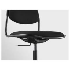 Swivel Chair Keeps Turning Wheelchair Nz ÖrfjÄll Sporren Black Ikea