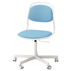 Light Blue Desk Chair Baby Bouncer Chairs 6 Months Plus ÖrfjÄll Sporren Swivel White Vissle Ikea