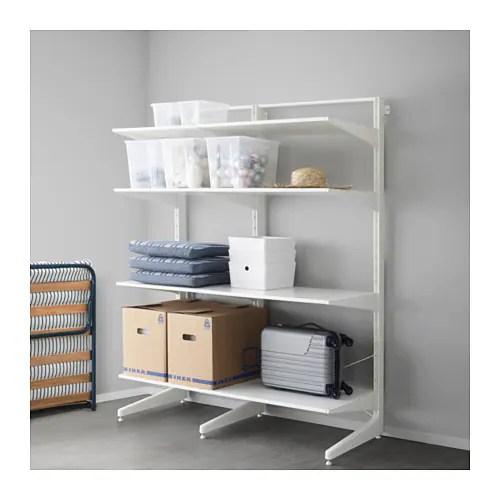 ALGOT Postfootshelves White 152x67x194 Cm IKEA