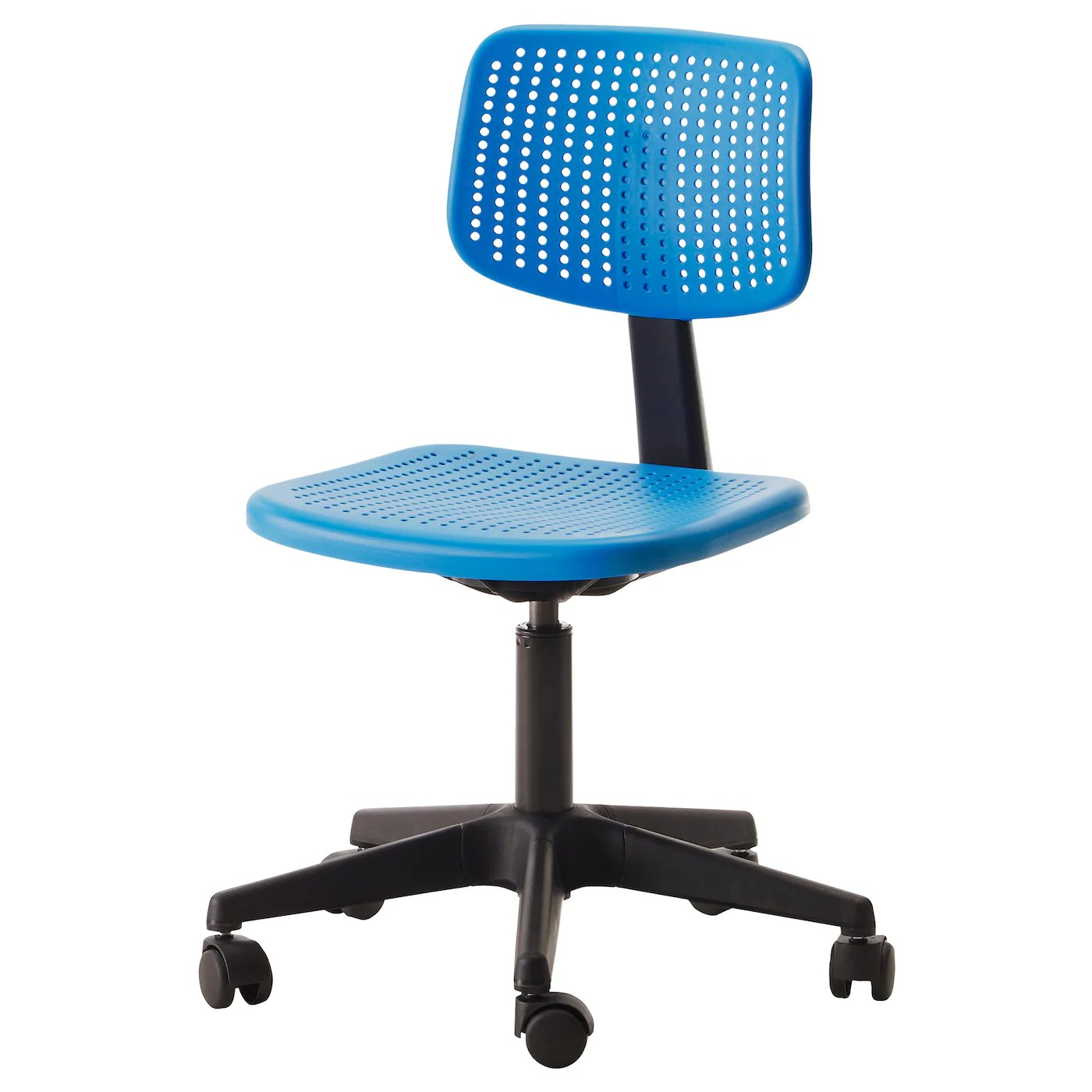 desk chair blue teal alrik swivel ikea