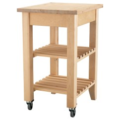 Kitchen Trolley Painting Cupboards Bekvam Birch 58 X 50 Cm Ikea Solid Wood Can Be Sanded And Surface Treated As Needed