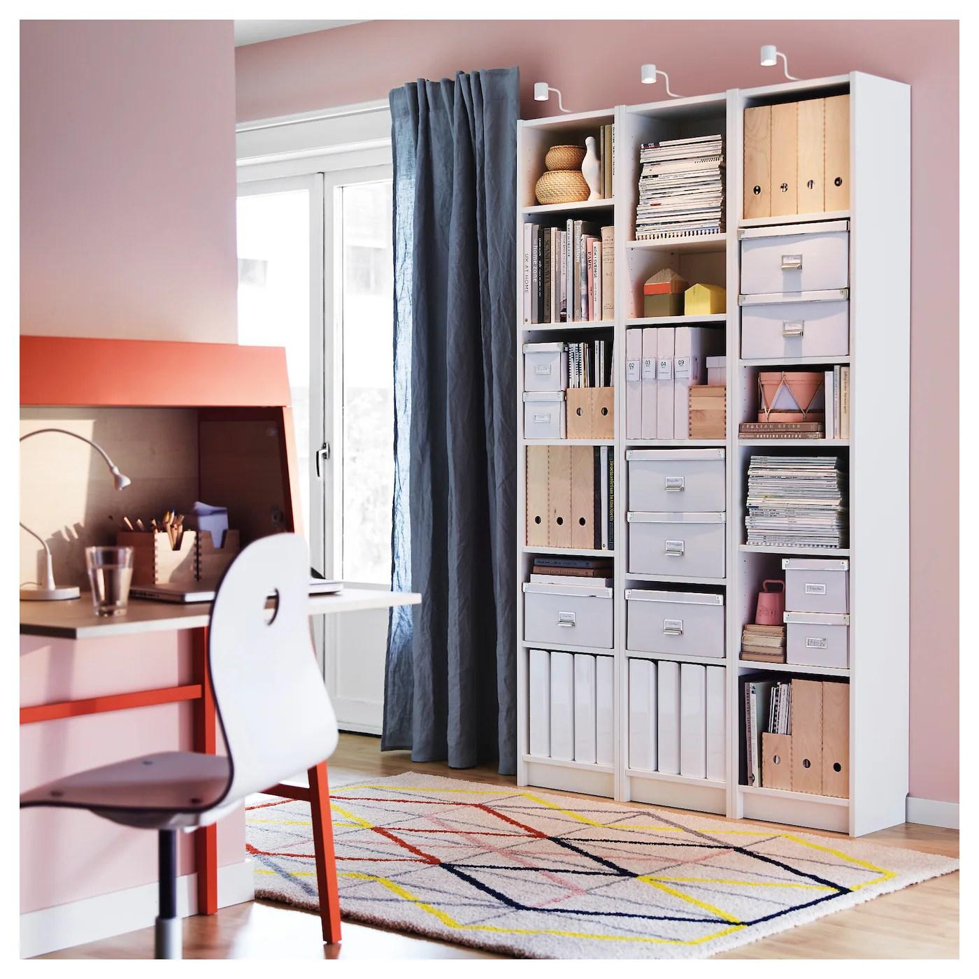 BILLY white, Bookcase, 40x28x202 cm   IKEA