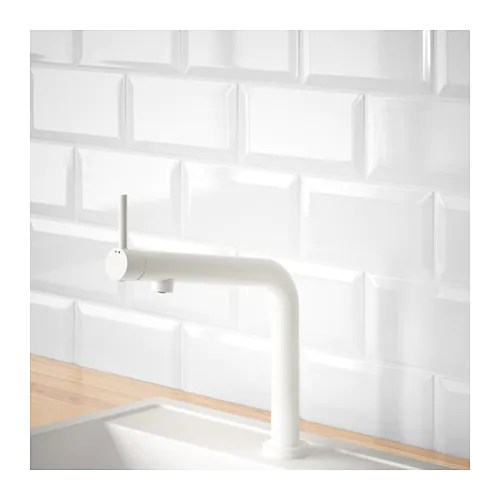 white kitchen faucet amish table bosjon mixer tap ikea 10 year guarantee read about the terms in