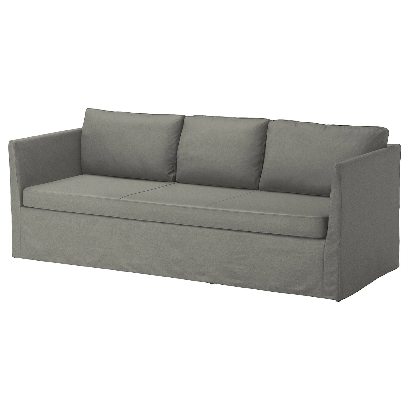 backamo 3 seater sofa slipcover solid wood sets online ikea brathult seat you sit comfortably thanks to the resilient foam and springy