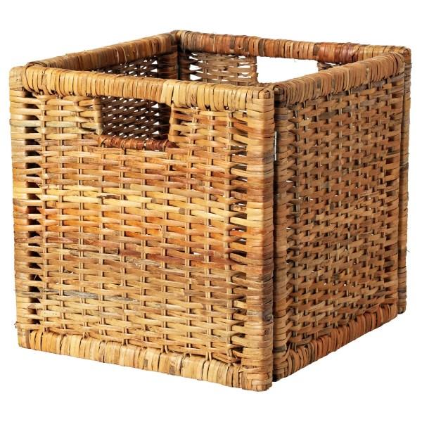 Bran Basket Rattan 32x34x32 Cm - Ikea