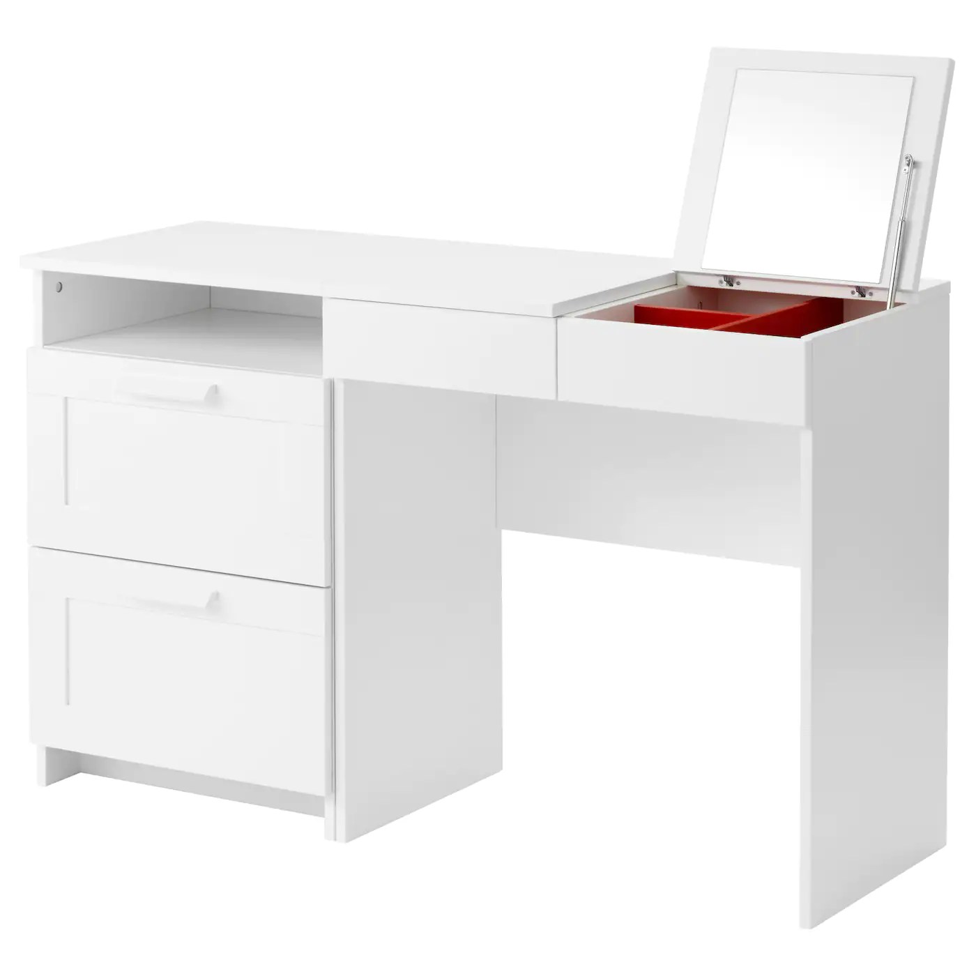 ikea kitchen table with drawers tall narrow cabinet brimnes dressing 43 chest of 2 white