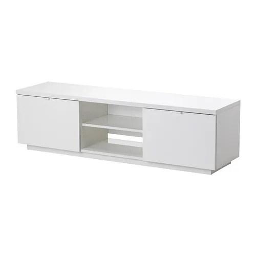 Tv Bench White Gloss