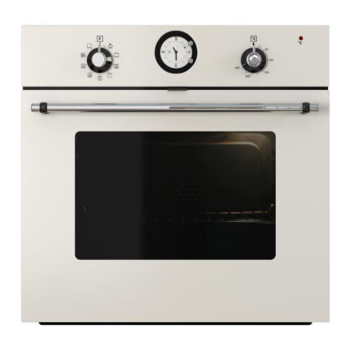 DÅTID OV8 Forced air oven off-white Width: 59.5 cm Depth: 56.4 cm Height: 59.5 cm