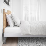 Delaktig Aluminium Rattan Bed With Headboard Ikea