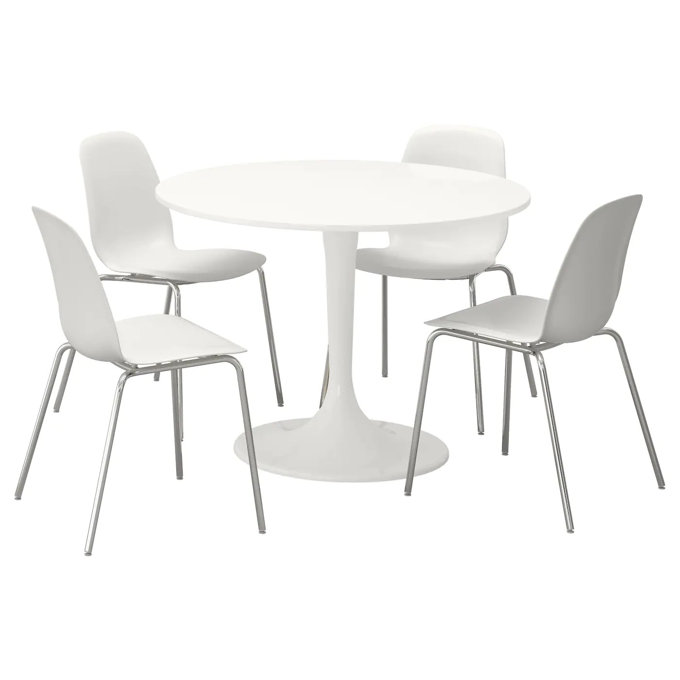 white table chairs chair covers hire sunshine coast docksta leifarne and 4 105 cm ikea
