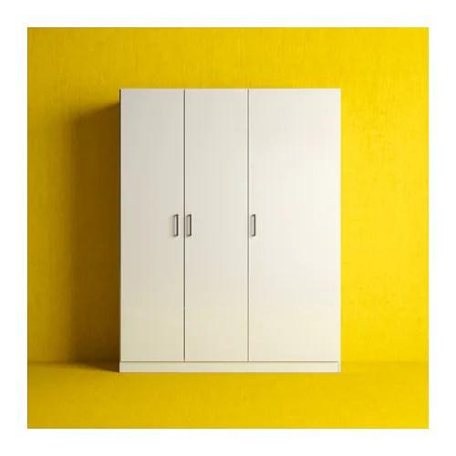 DOMBS Wardrobe White 140x181 Cm IKEA