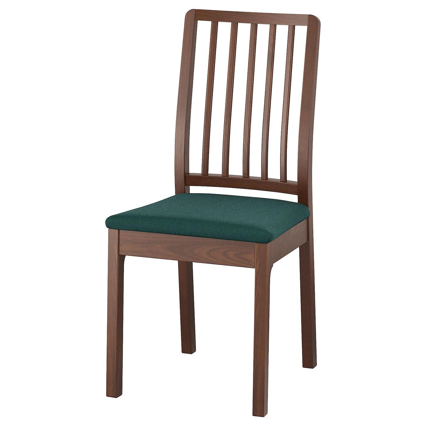 light green chair covers church banquet chairs ekedalen brown gunnared dark ikea