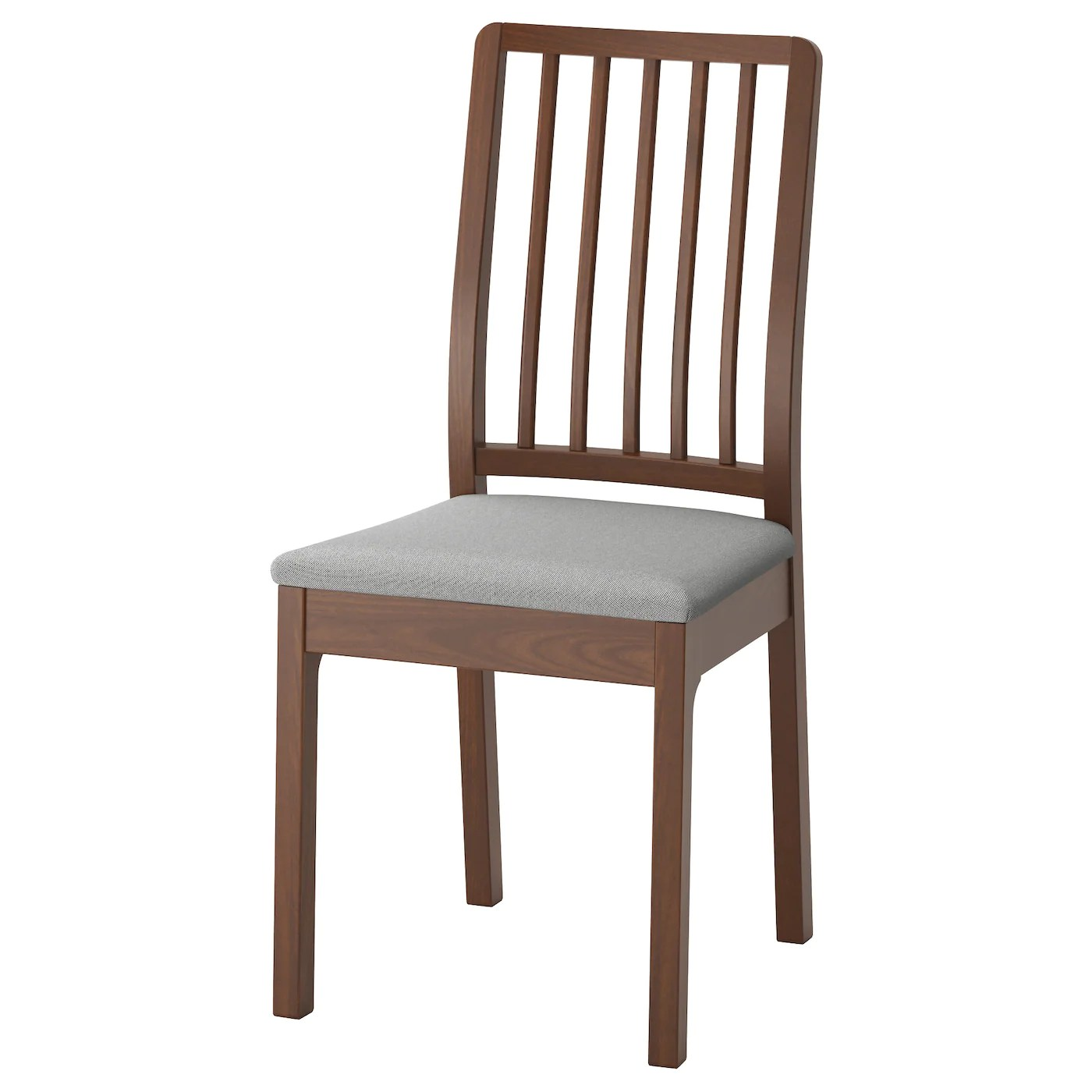chair with light wenger orchestra ekedalen brown ramna grey ikea