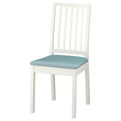Pale Blue Chair Covers Galvanized Steel Ekedalen White Gräsbo Light Ikea
