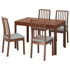 Ikea Wooden Dining Table 4 Chairs Pc Game Chair Sets And Room
