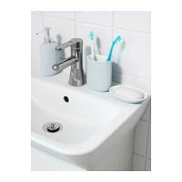 EKOLN Toothbrush holder Light blue - IKEA