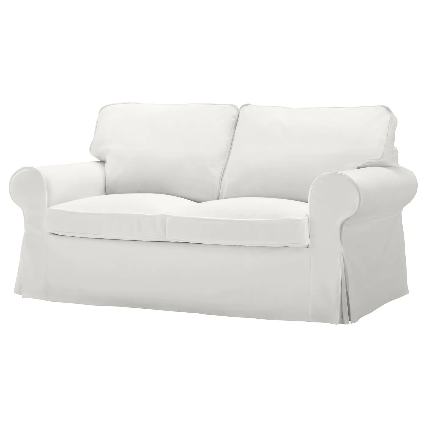 www.ikea chair covers antique barber chairs for sale ektorp cover two seat sofa blekinge white ikea