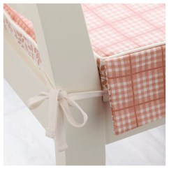 Chair Cushions With Ties Ikea Toddler Wooden Table And Chairs Elsebet Pad Pink 43x42x4 Cm
