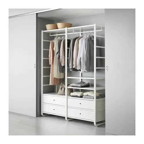 ELVARLI 2 sections White 165 x 55 x 216 cm  IKEA