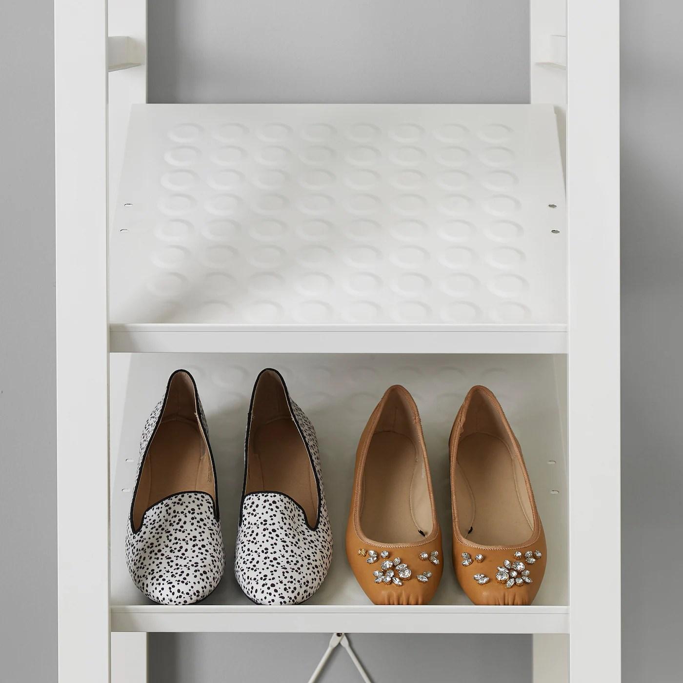 elvarli shoe shelf white 40x36 cm