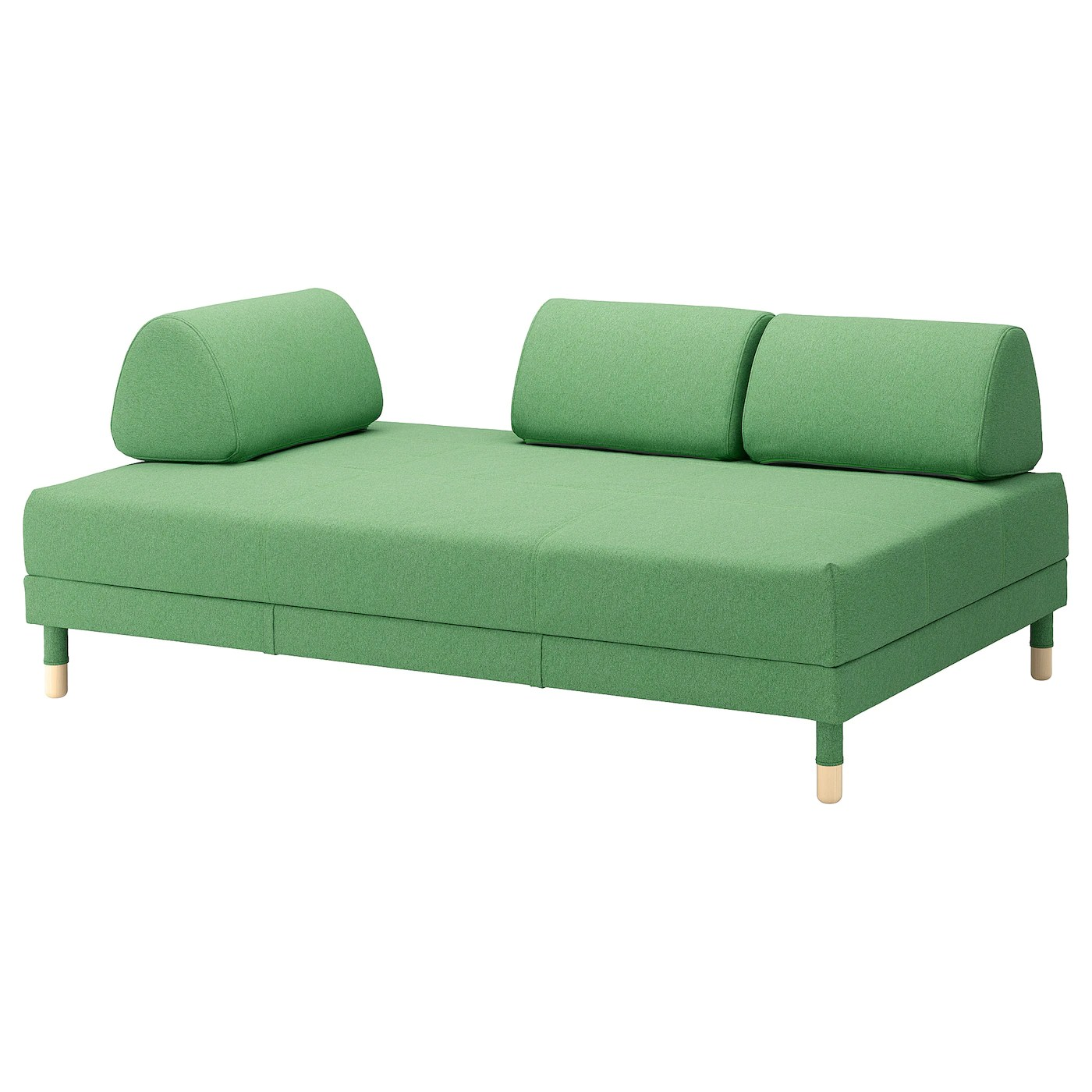 sofa befs best set colours flottebo bed lysed green 120 cm ikea the cover is easy to keep clean since it removable