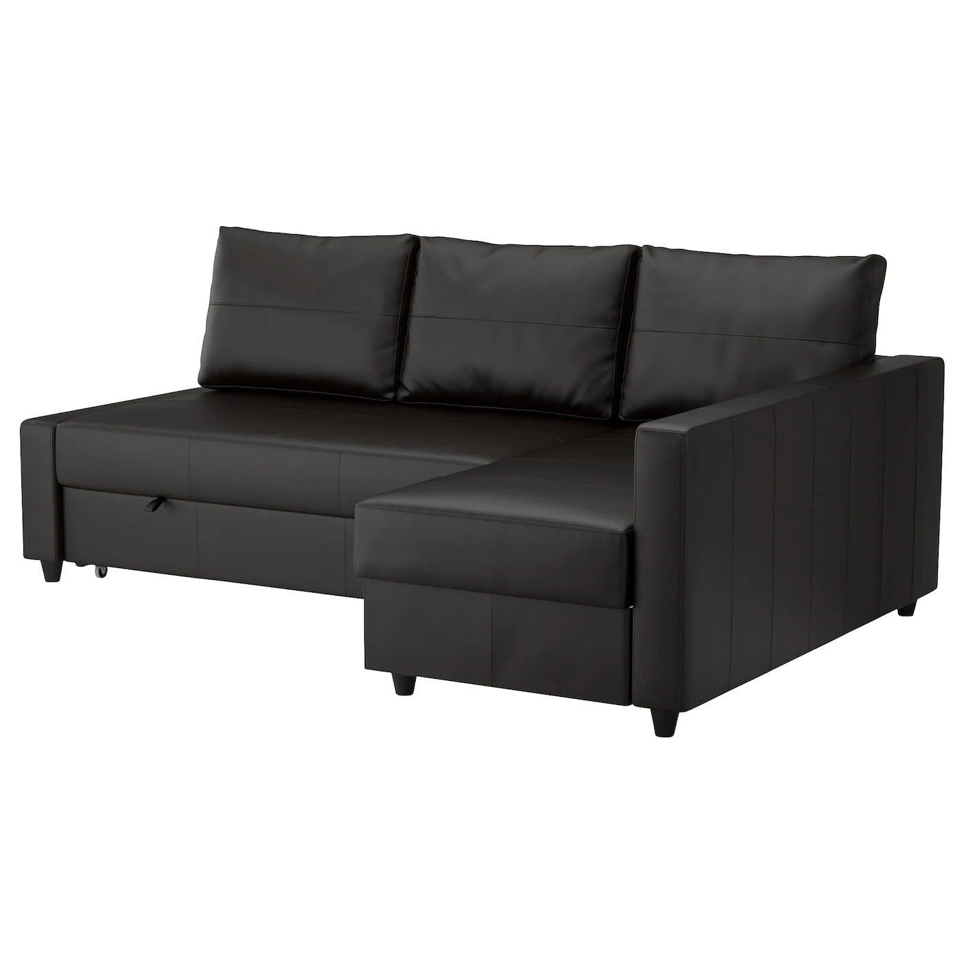 sofa chair ikea gray club friheten corner bed with storage bomstad black