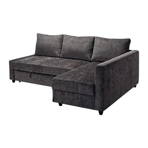 sofa bed uk under 100 bargain leather sofas friheten corner with storage dark grey ikea chaise longue and double in