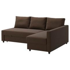 Sofa Chair Bed Ikea Revolving Hsn Number Friheten Corner With Storage Skiftebo Brown