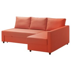 Orange And Black Sofa Bed Table Decorating Pictures Friheten Corner With Storage Skiftebo Dark