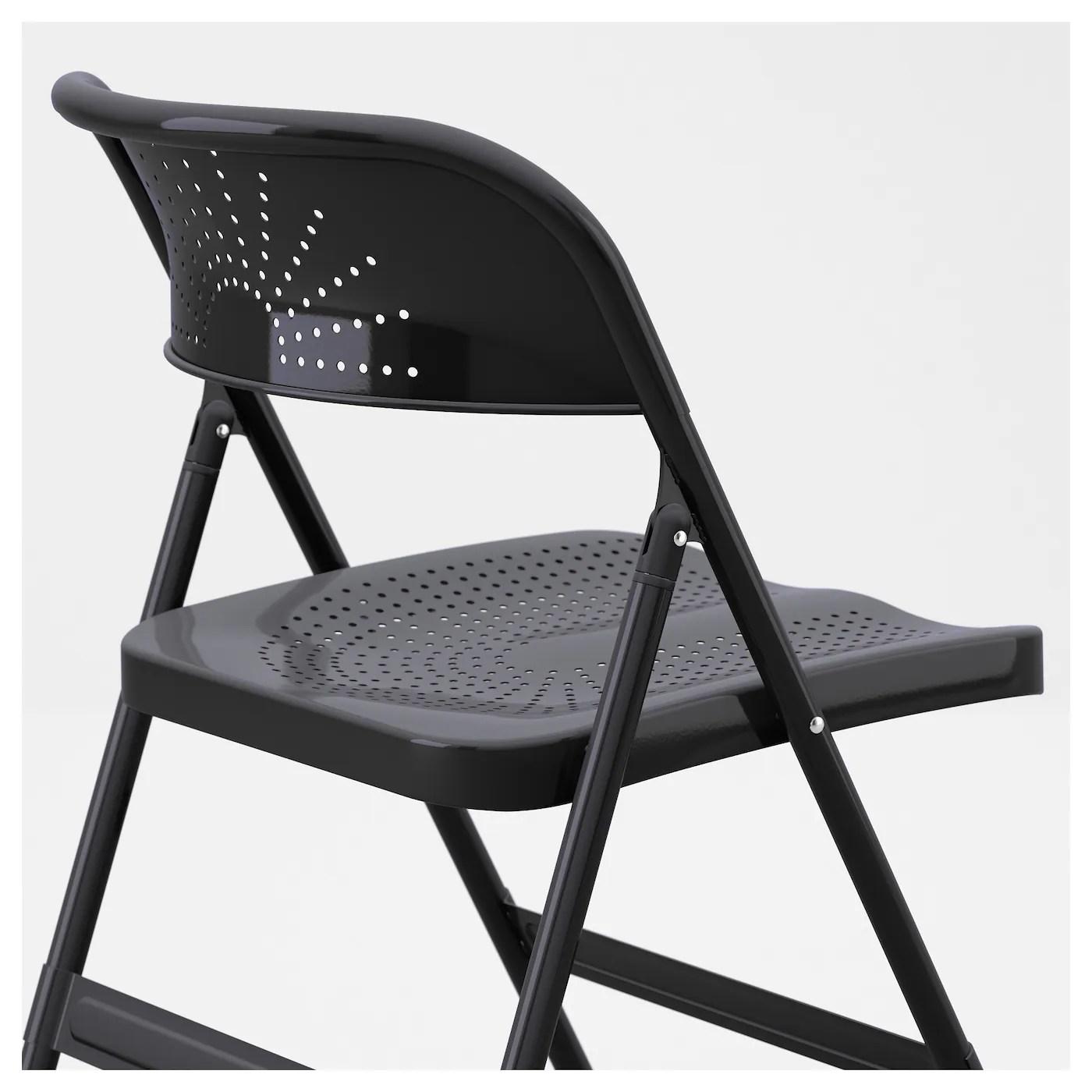 folding chairs for less girls desk frode chair dark grey ikea