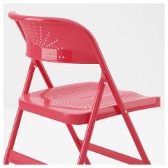Folding Chair Ikea Louis Stool Frode Red