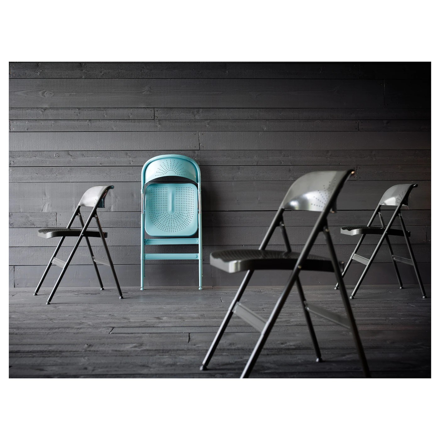 ikea folding chair deep seat patio chairs without cushions frode turquoise