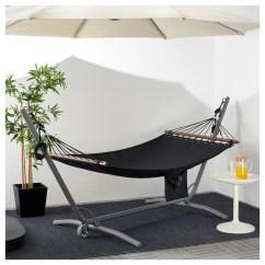 Hanging Chair No Stand Flexsteel Rv Captains Chairs Parts GÅrÖ FredÖn Hammock With Grey Black Ikea