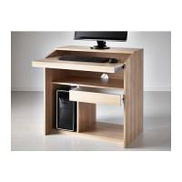 GOLIAT Computer table Birch effect 79x50 cm - IKEA