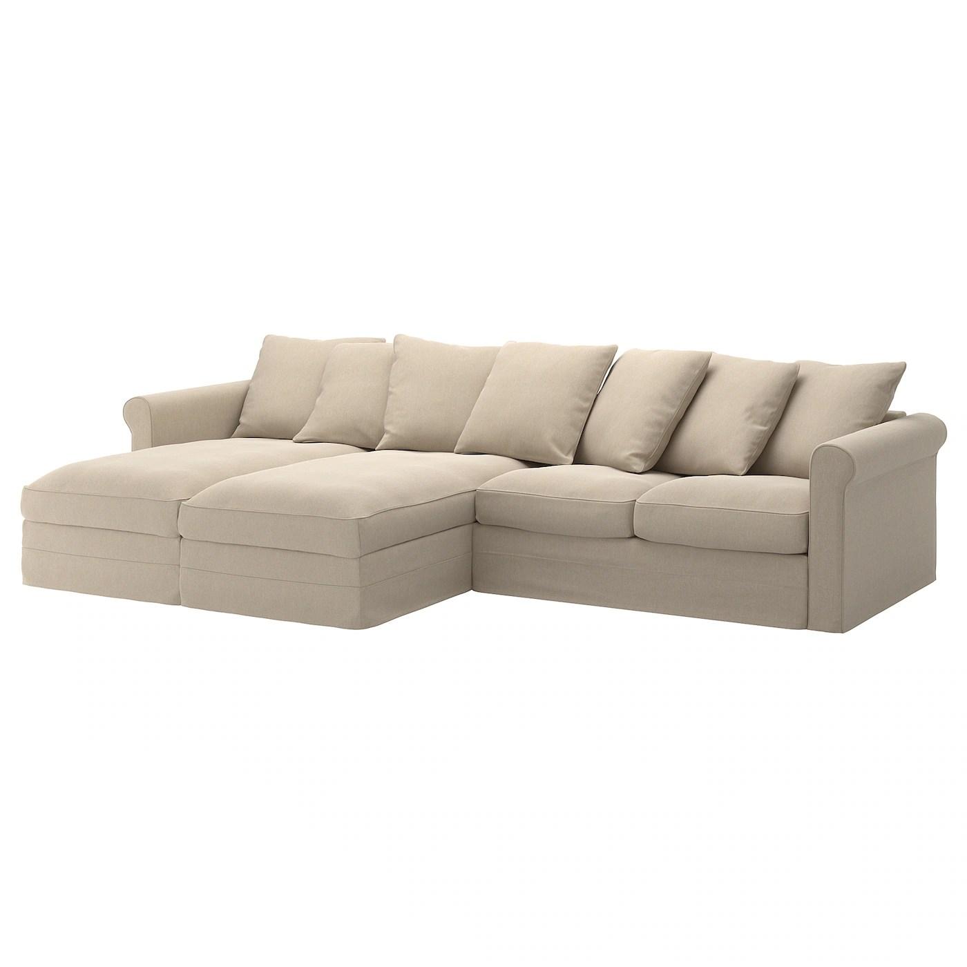 best thing to clean cream leather sofa kids sleeper 4 seater ikea vimle corner seat gräsbo black