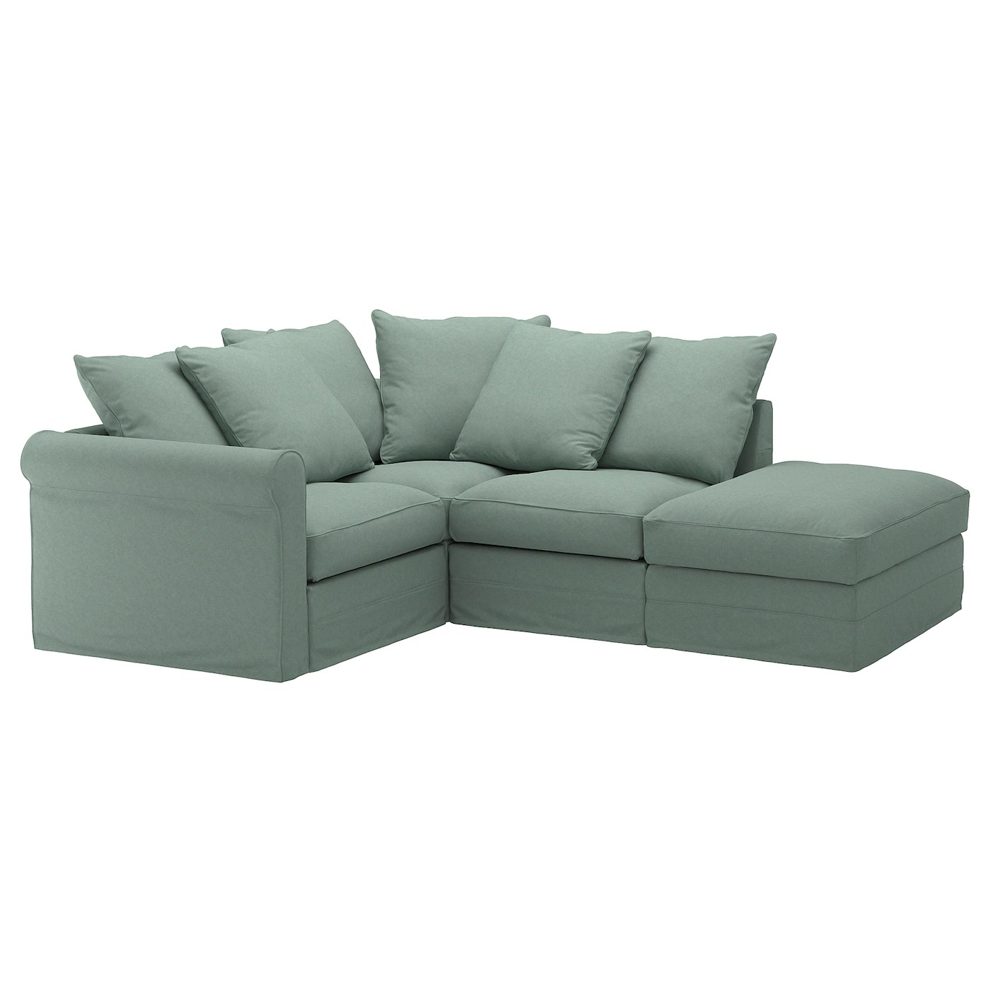 corner sofa bed recliner ikea large sofas gronlid 3 seat 10 year guarantee read about the terms