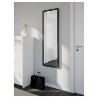 GRUA Mirror Black 45 x 140 cm - IKEA