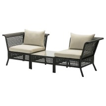 Ll Kungsholmen Corner Easy Chairs Table Outdoor