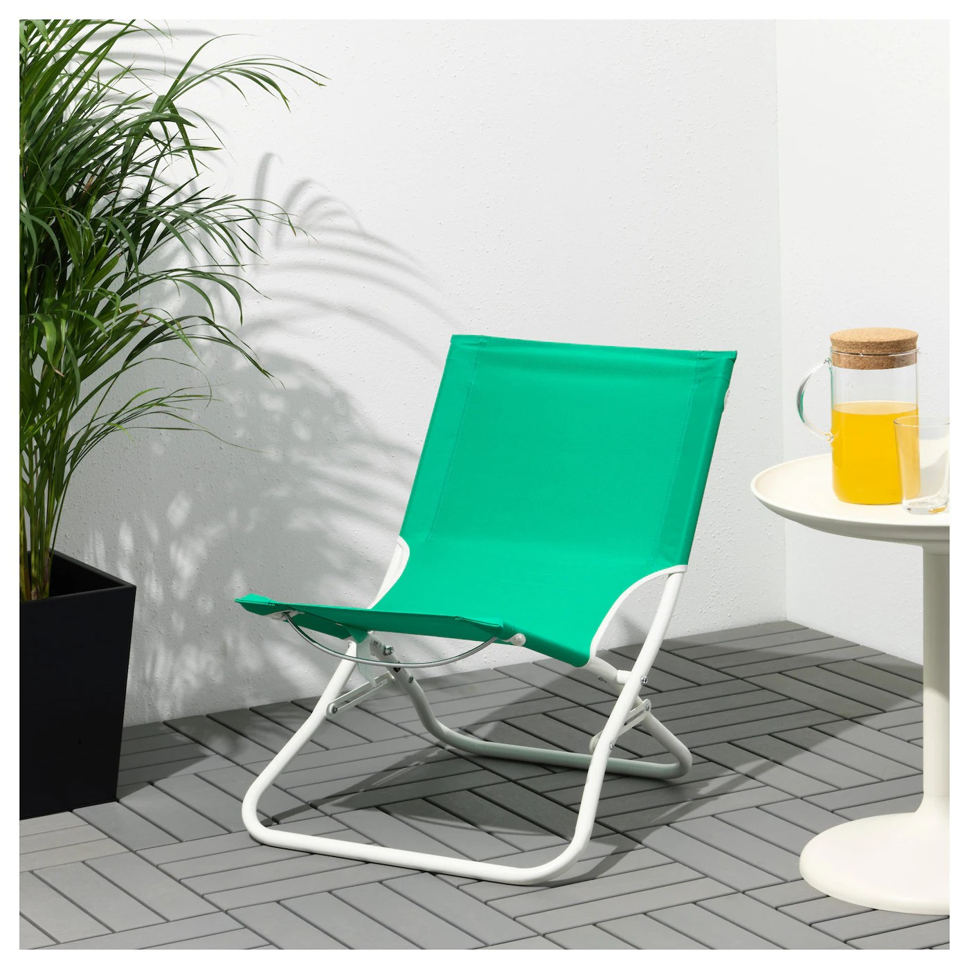 ikea beach chair patio stacking chairs canada hÅmÖ green
