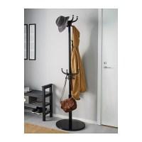 HEMNES Hat and coat stand Black 185 cm - IKEA