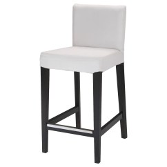 Kitchen Stools Ikea Grills For Outdoor Kitchens Bar Chairs Henriksdal Stool With Backrest Frame The Padded Seat Means You Sit Comfortably
