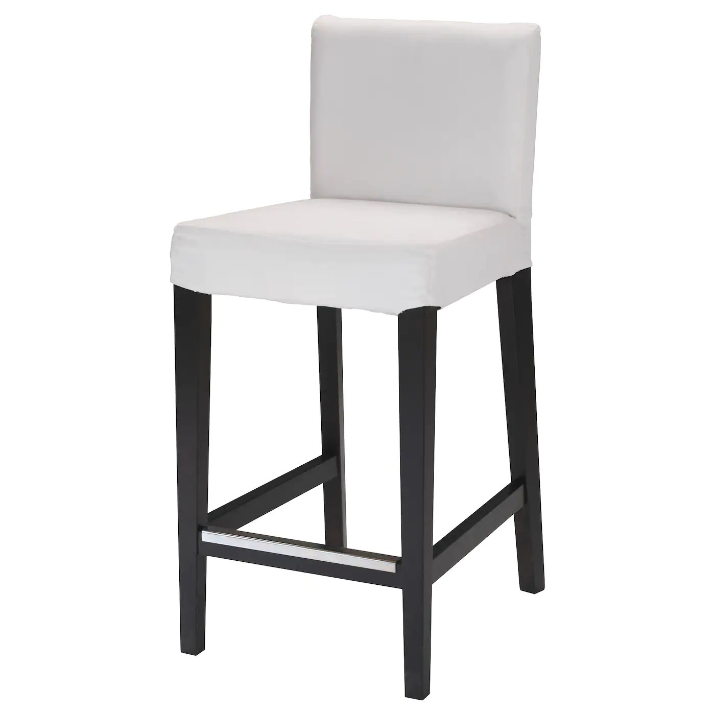 nice chair stool cost plus folding chairs bar stools ikea henriksdal with backrest frame the padded seat means you sit comfortably